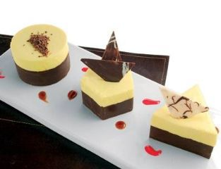 Recipe Flan de Queso<br>Chocolate Cafe Puerto Rico