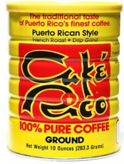 Cafe Rico in a Can, Rico Coffee in a Can Puerto Rico