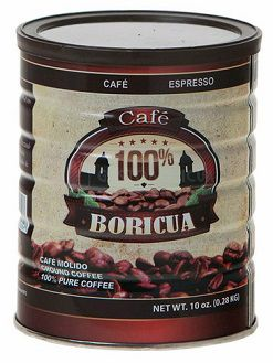 Cafe Boricua from Puerto Rico, Canned Coffee from Puerto Rico Puerto Rico