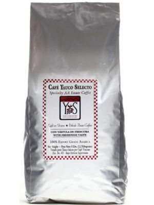 Cafe Yauco Selecto 5 pounds, Cafe Yauco Selecto 5 libras, Yauco Selecto Coffee Whole Beans Puerto Rico