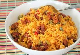 Recipe Arroz Mamposteo<br>Mamposteao Rice Puerto Rico
