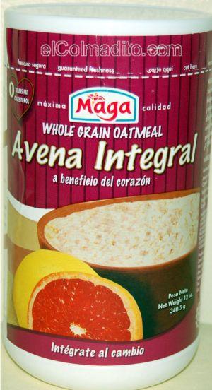 Maga Avena Integral 12onz Br Whole Grain Oatmeal Cereales De
